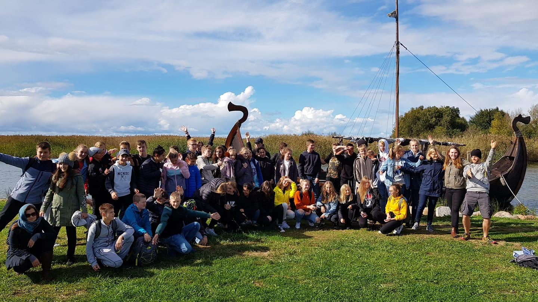 Starptautiskais Nordplus projekts, skolēnu apmaiņas vizīte