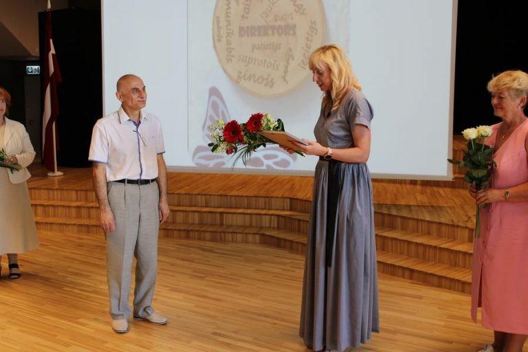 Skaists pasākums veltīts mūsu direktoram Valerijam Jepiskoposovam