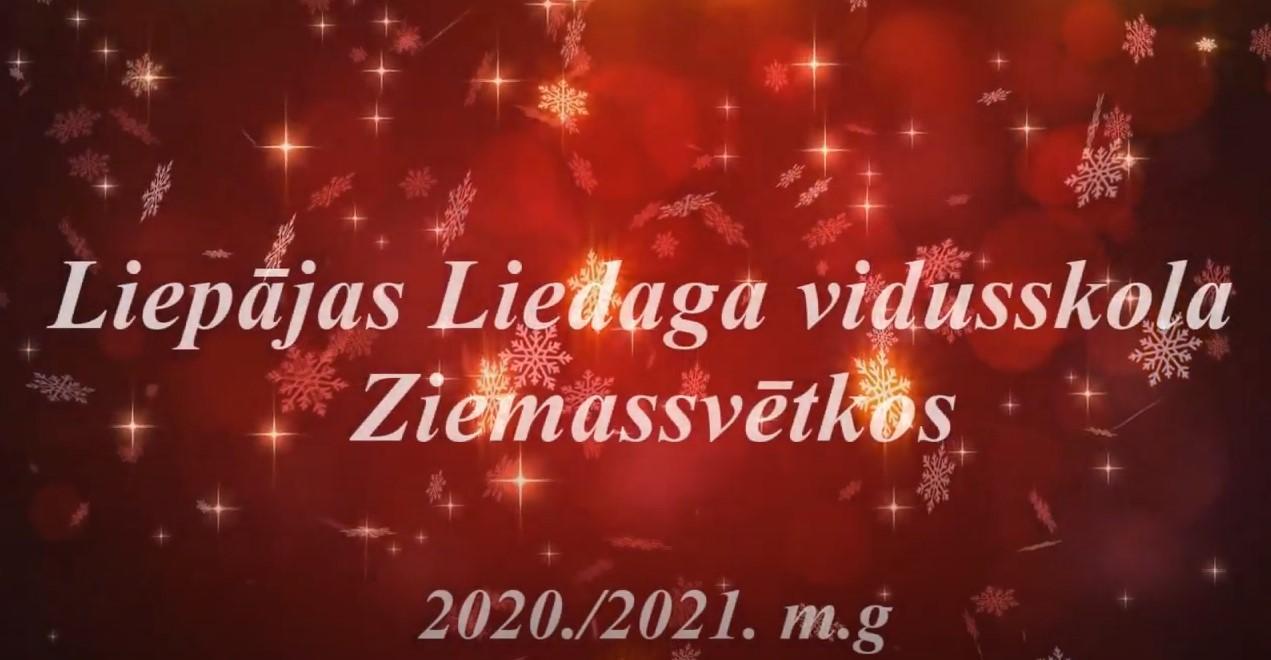 Ziemassvētku video apsveikums